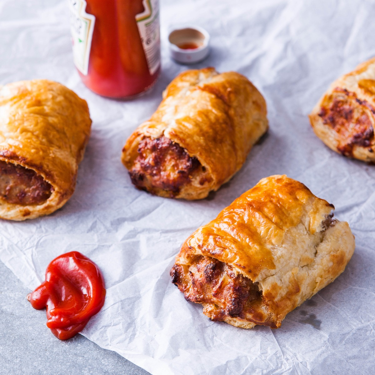 D|F Sausage Rolls - Multiple Options Available