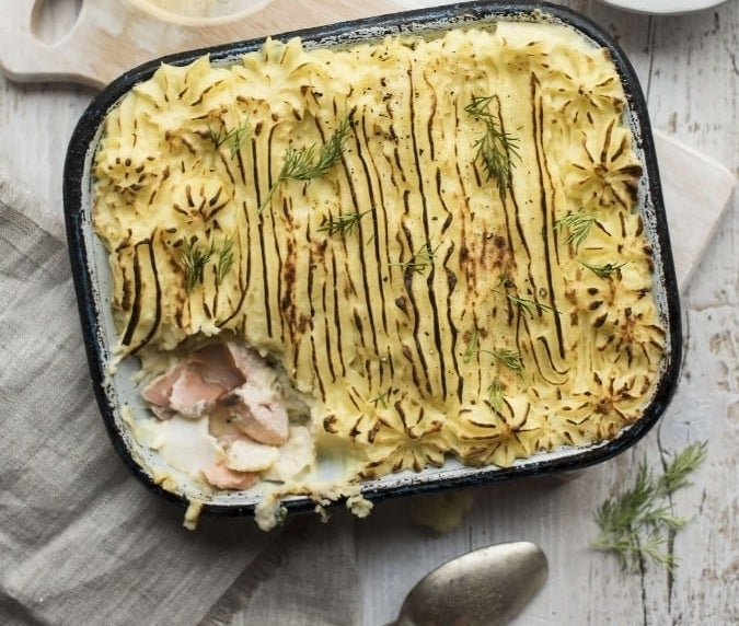 D|F Classic Fish Pie - Available as part of our 2 for €16 offer!