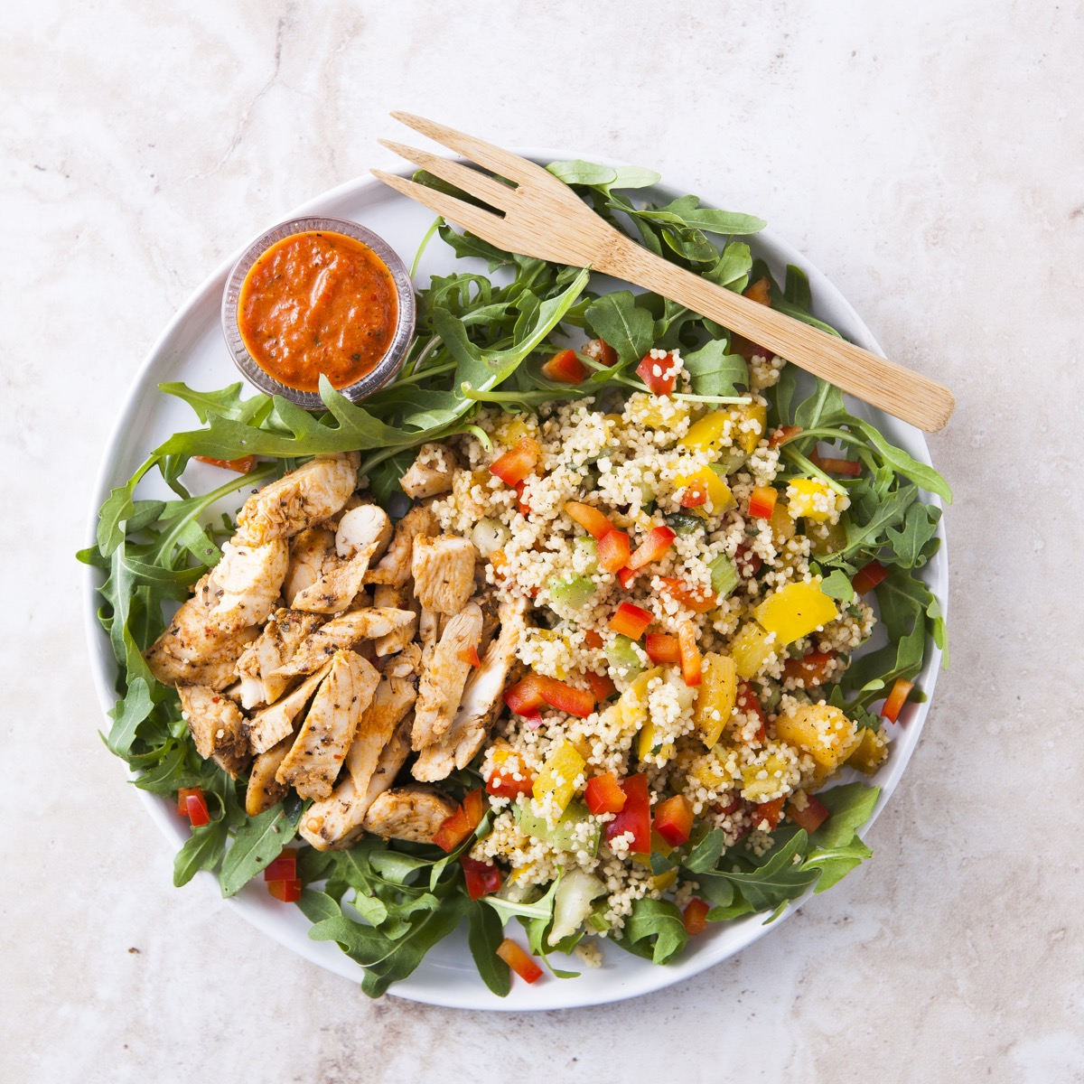 Marrakesh Chicken Salad (350g)