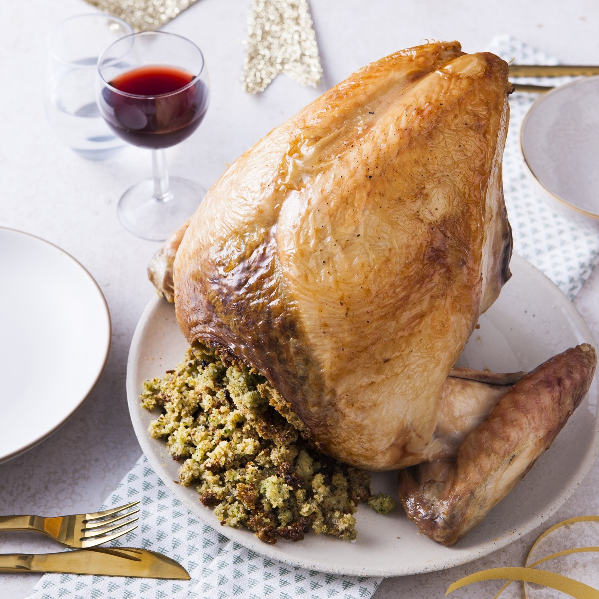 Stuffed Crown of Turkey
