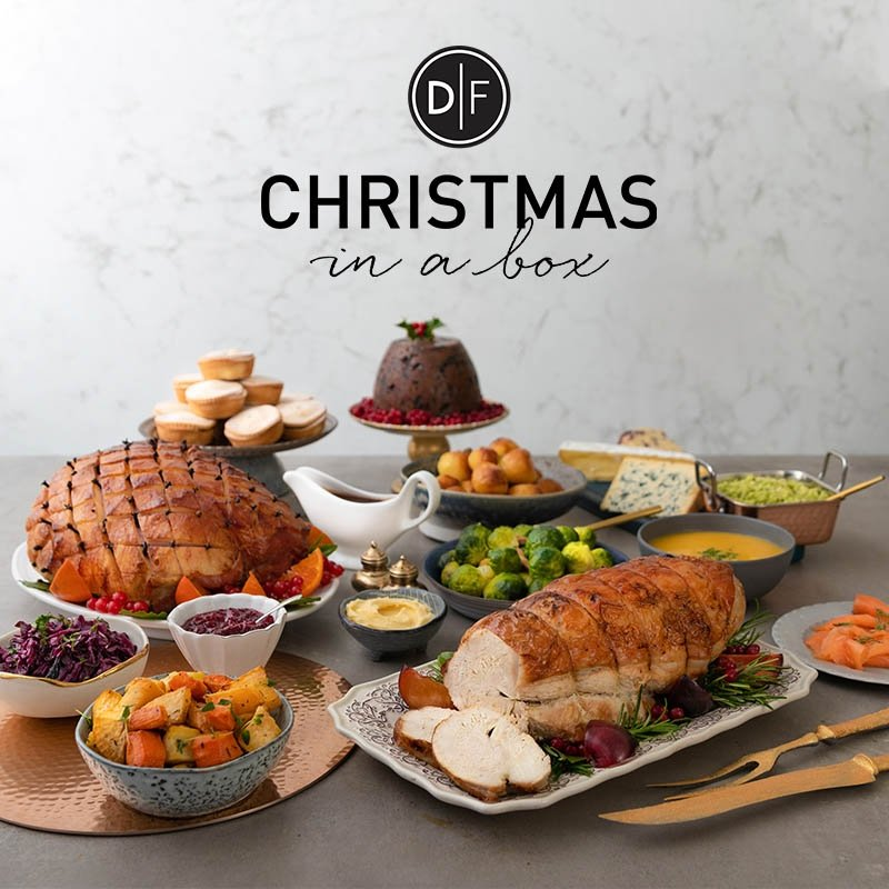 D|F Christmas in a Box - Order Now for Availability : 10th December - 24th December