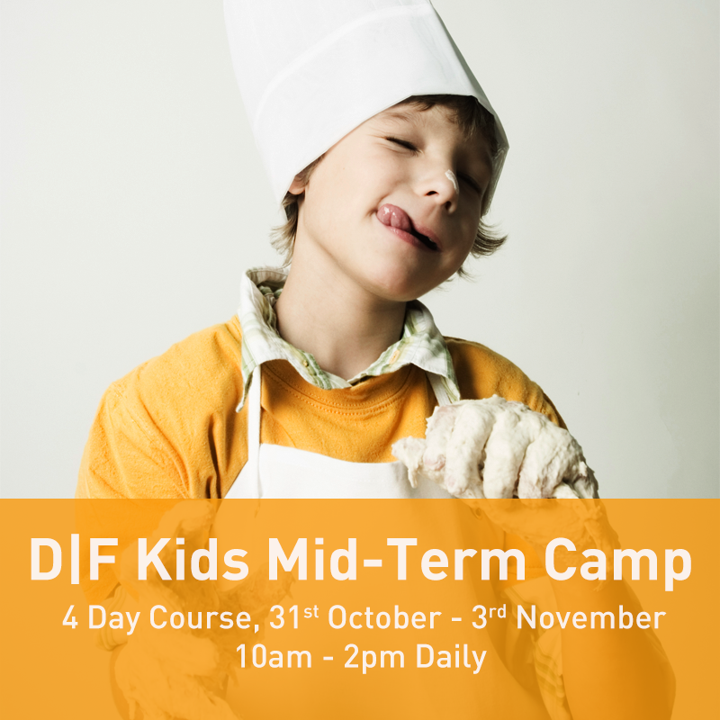 31/10/17 - 03/11/17: D|F Kids Mid-Term Camp (10am - 2pm Daily)