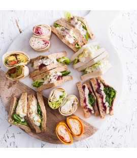 Large Luxury Sandwich Platter