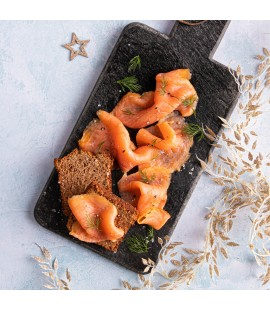 D|F Irish Organic Side of Smoked Salmon - Select Weight (Available from 21st of December )