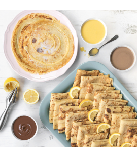 Pancake Platter for 25 with Selection of Sauces [Store collections only]