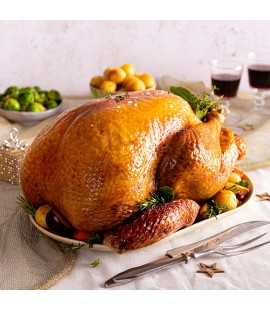 COOKED Free Range Irish Turkey - Select Weight (Available from 21st December)