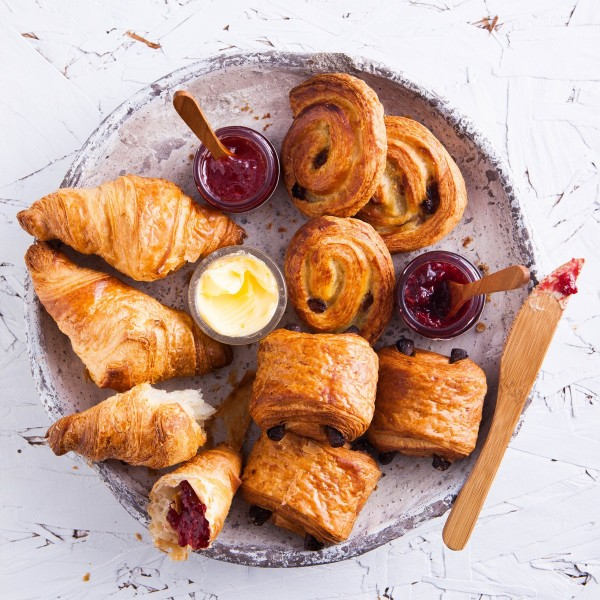 Mini Breakfast Pastries Platter(Min.Order 5)