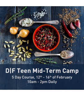 12/02/18 - 16/02/17: D|F Teen Mid-Term Camp (10am - 2pm Daily)