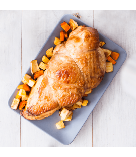 Uncooked Free Range Irish Turkey Breast with Sage & Onion Stuffing (Per KG) [Available from 20th December]