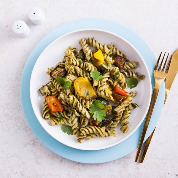 Fusilli & Roast Vegetable Salad