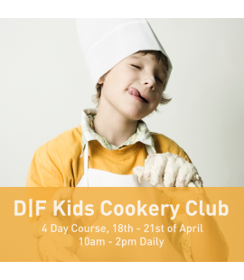 18/04/2017 - 21/04/2017: D|F Kids Cookery Club (10am - 2pm Daily)