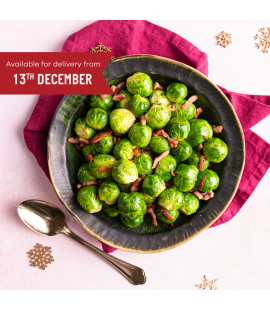 Brussels Sprouts with Bacon Lardons