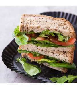 Gluten Friendly Vegetarian Sandwich