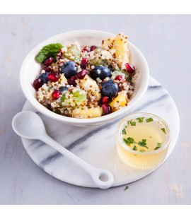 Quinoa Fruit Salad with Honey & Lime Dressing (190g)