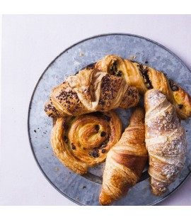 Freshly Baked Breakfast Pastries Platter