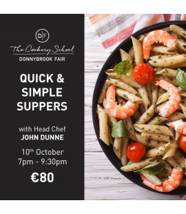 10/10/18: Quick & Simple Suppers (7pm - 9:30pm)