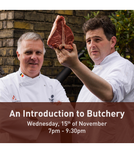 15/11/17: Introduction to Butchery (7pm - 9:30pm)