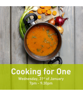 31/01/18: Cooking for One (7pm - 9:30pm)