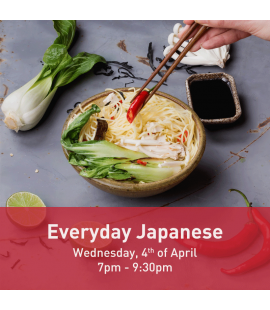 04/04/18: Everyday Japanese (7pm - 9:30pm)