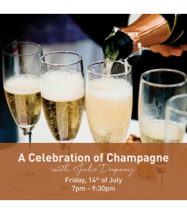 14/07/16: a Celebration of Champagne (7pm - 9:30pm)