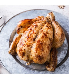 UNCOOKED Free Range Organic Irish Chicken - 1.8kg (Available from 21st December)