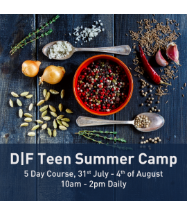31/07/17 - 04/08/17: D|F Teen Summer Camp (10am - 2pm Daily)