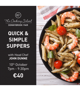10/10/18: Quick & Simple Supper (7pm - 9:30pm)