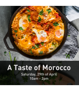 29/04/2017: a Taste of Morocco (10am - 2pm)