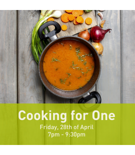 28/04/2017: Cooking for One (7pm - 9:30pm)