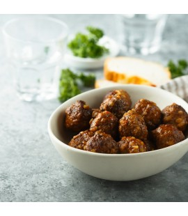Vegan Meatballs with Smokey Tomato Sauce