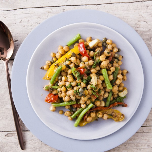 Chickpea & Cherry Tomato Salad
