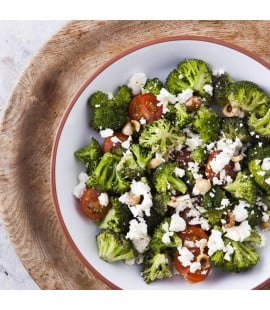 Broccoli & Feta Salad with Hazelnuts