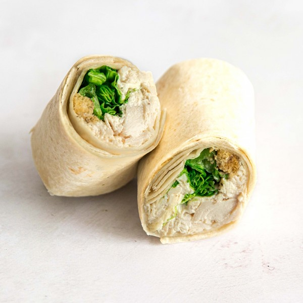 Chicken Caesar with Coolea  Cheese Wrap