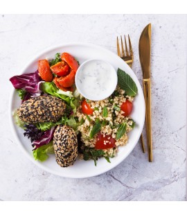 Falafel & Mixed Leaves Salad (310g)