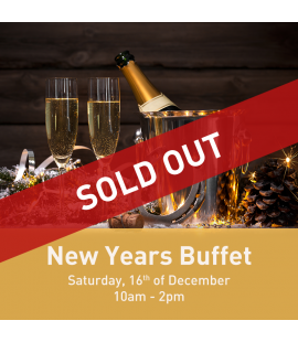 16/12/17: New Years Buffet (10am - 2pm)