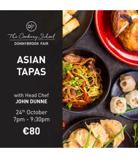 24/10/18: Asian Tapas (7pm - 9:30pm)