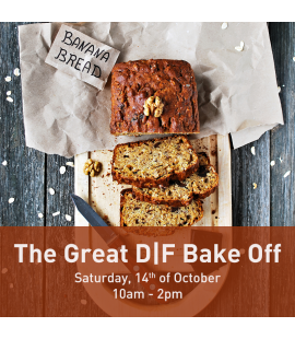 14/10/17: The Great D|F Bake Off (10am - 2pm)