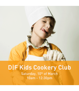10/03/18: the D|F Kids Cookery Club (10am - 12:30pm)