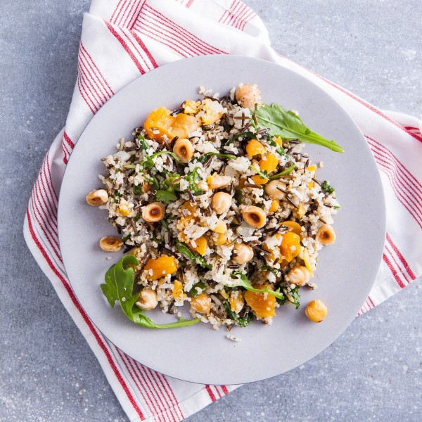 Wild Rice & Quinoa Salad