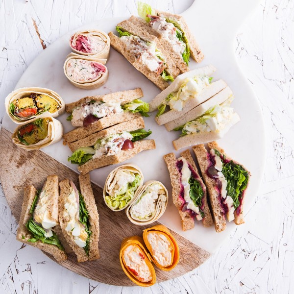 Luxury Sandwich Platter - Multiple Sizes Available