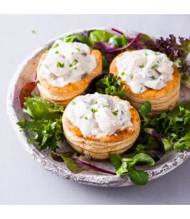 Chicken & Mushroom Vol-au-Vents