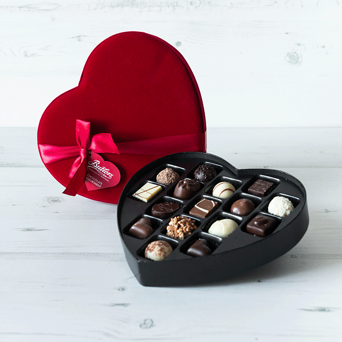 Christmas hampers gifts gifts by occasion gifts butlers large velvet heart forumfinder Gallery