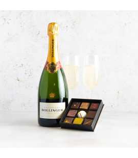Bollinger Special Cuvée Champagne & Fresh Handmade Cocoa Atelier Chocolates