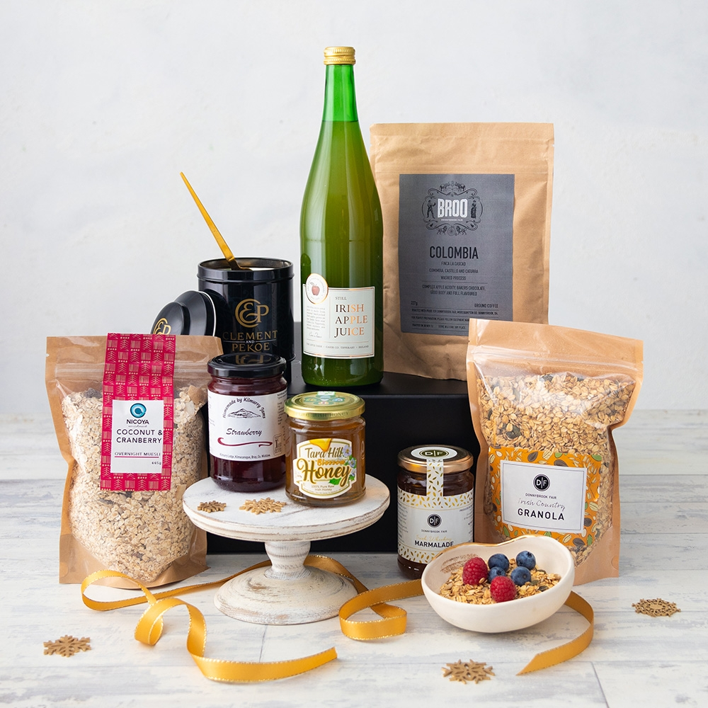 The D|F Breakfast Hamper Box (Delivery Until 19th Dec Only)