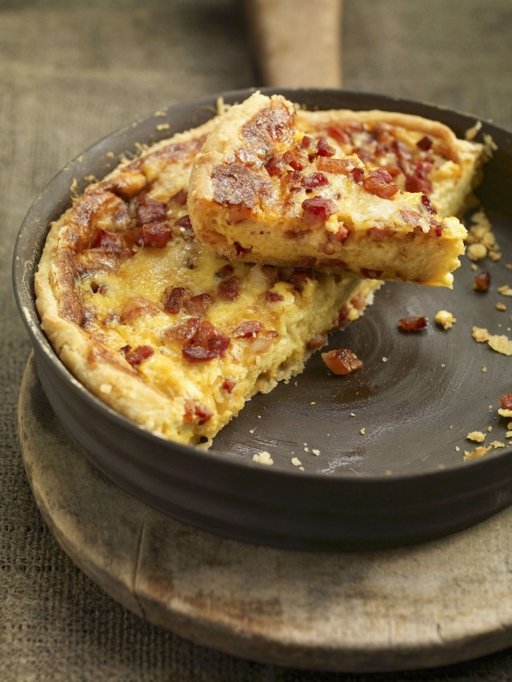 Traditional Quiche Lorraine