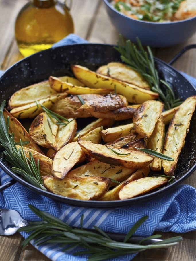 Rosemary Potato Wedges