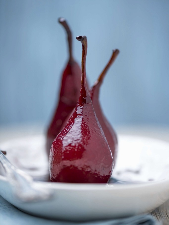 Christmas Poached Pears