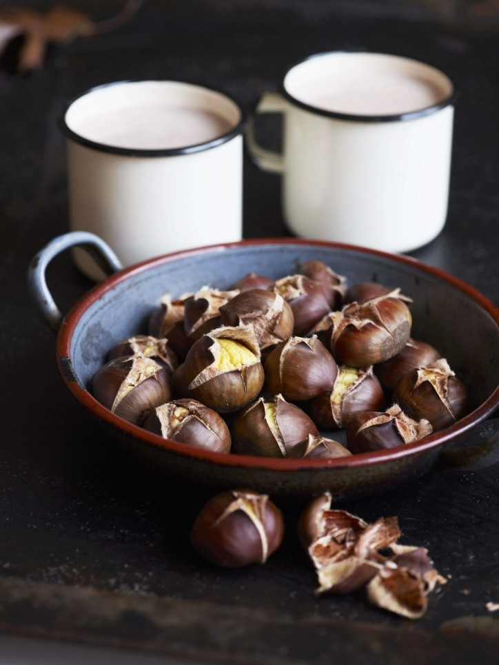 Festive Roasted Chestnuts