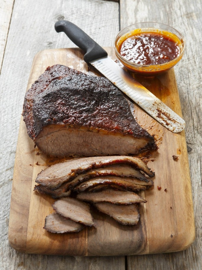 Slow Cooked Barbecue Brisket