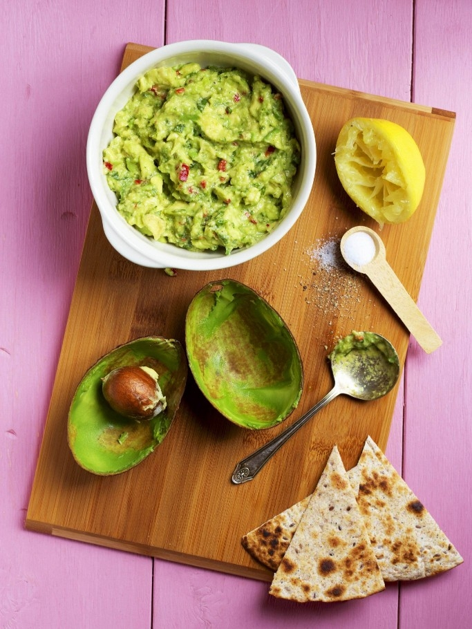 Fresh, Homemade Guacamole